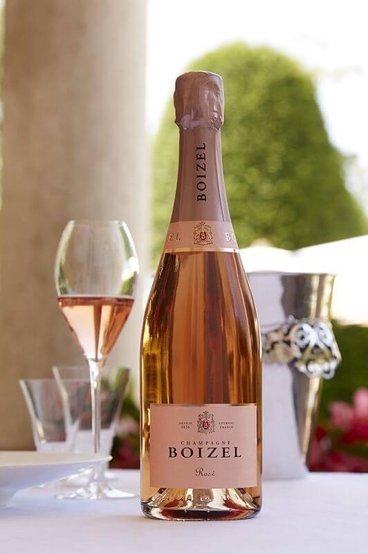 Champagne Rosé Demi-bouteille