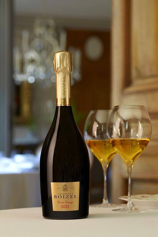 Champagne Grand Vintage 2012, sous étuis