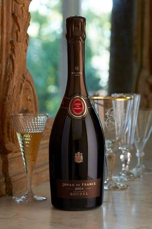 Champagne Joyau de France 2004, sous étui