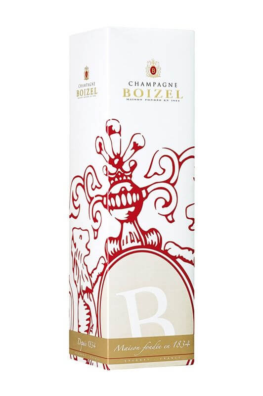 Champagne Brut Réserve Magnum, sous étuis