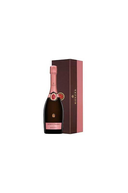 Champagne Joyau de France Rosé 2007, sous étui