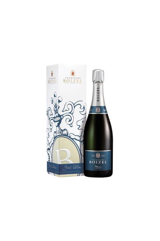 Champagne Ultime, sous étuis