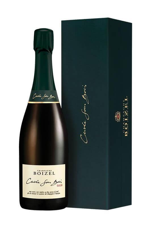 Champagne Sous Bois 2008, sous étui
